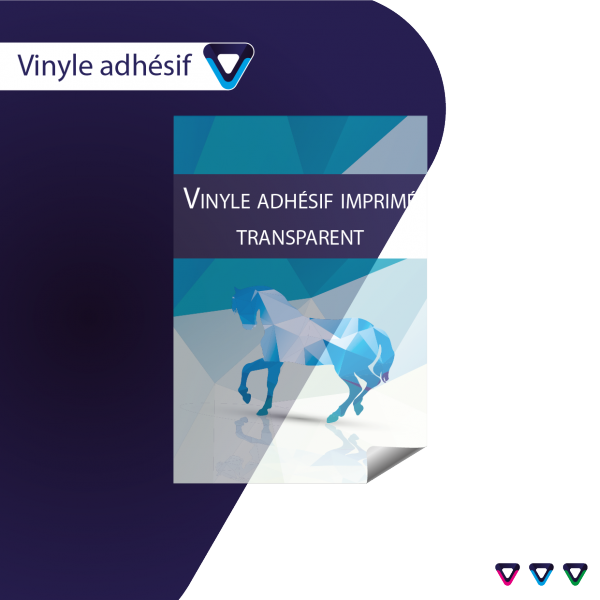 Impression quadri vinyle adhesif transparent